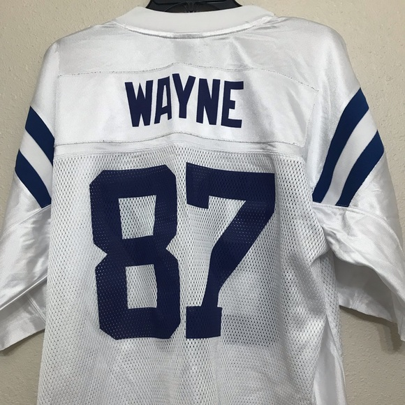 the latest 7bba2 5042c Authentic Reebok Reggie Wayne Colts Jersey. Large